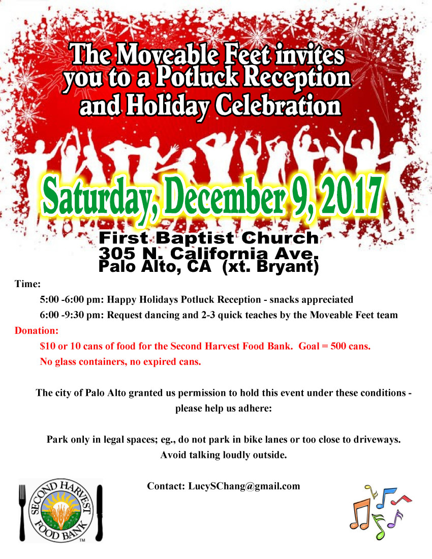 Holiday Celebration - Folk Dance Federation of California